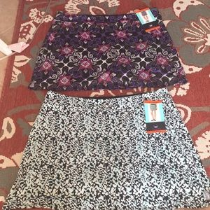 Nwt tranquility skorts super comfortable
